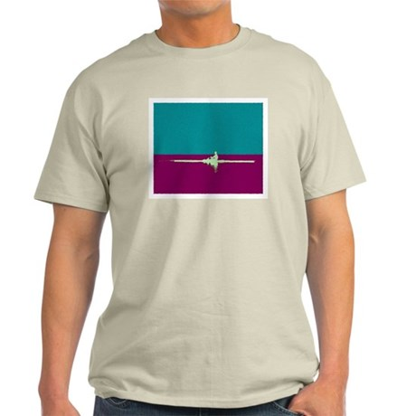 ROWER TEAL PURPLE PAINTED Light T-Shirt