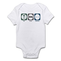 Eat Sleep Cannons Infant Bodysuit