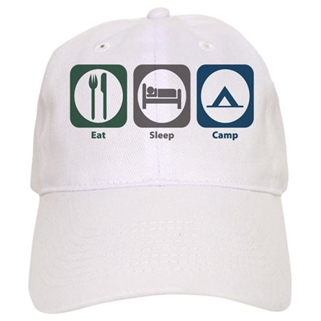 Eat Sleep Camp Cap
