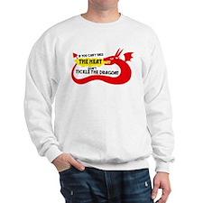 Don't Tickle the Dragon Sweatshirt
