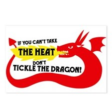Don't Tickle the Dragon Postcards (Package of 8)