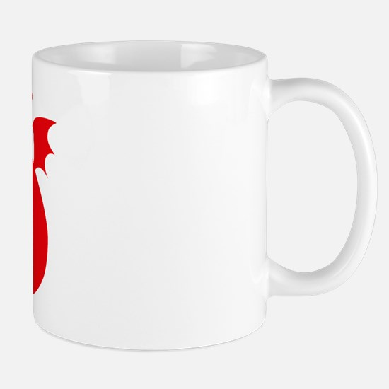 Don't Tickle the Dragon Mug