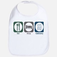 Eat Sleep Cabinetry Bib