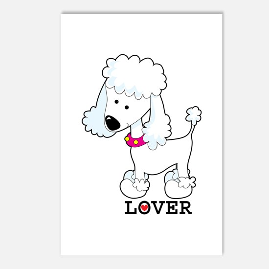 Poodle Lover Postcards (Package of 8)
