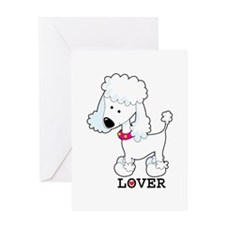 Poodle Lover Greeting Card
