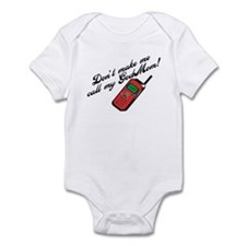 Don't Make Me Call Godmom! Infant Bodysuit
