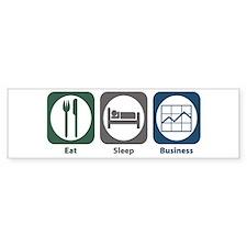 Eat Sleep Business Bumper Sticker (10 pk)