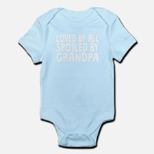 Loved By All Spoiled By Grandpa Body Suit