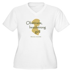 t_shirt_white Plus Size T-Shirt