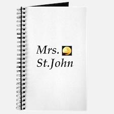 Mrs. St. John Journal