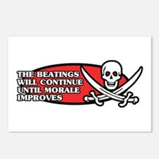 Beatings will Continue Postcards (Package of 8)