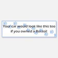 Your Car Borzoi Bumper Bumper Bumper Sticker