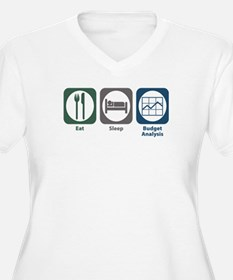 Eat Sleep Budget Analysis T-Shirt