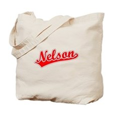Retro Nelson (Red) Tote Bag
