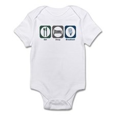 Eat Sleep Broadcast Infant Bodysuit
