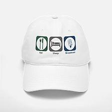 Eat Sleep Broadcast Baseball Baseball Cap