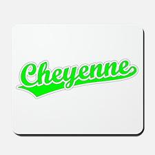 Retro Cheyenne (Green) Mousepad