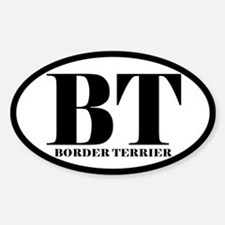 BT Abbreviation Border Terrier Decal