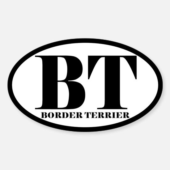 BT Abbreviation Border Terrier Decal