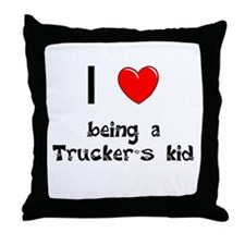 Trucker Throw Pillow