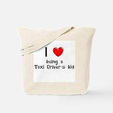 Taxi Cab Driver Tote Bag