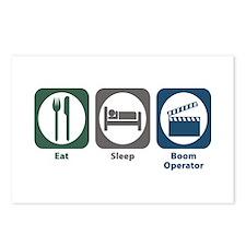 Eat Sleep Boom Operator Postcards (Package of 8)