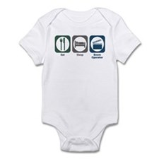 Eat Sleep Boom Operator Infant Bodysuit
