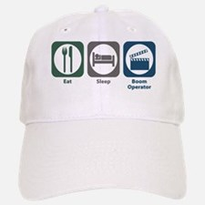 Eat Sleep Boom Operator Baseball Baseball Cap