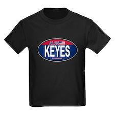 Alan Keyes RW&B Oval T