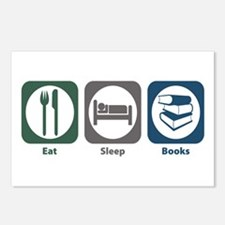 Eat Sleep Books Postcards (Package of 8)