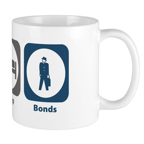 Eat Sleep Bonds Mug