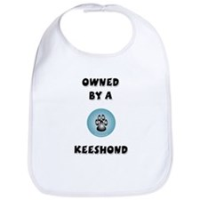 Owned by a Keeshond Bib
