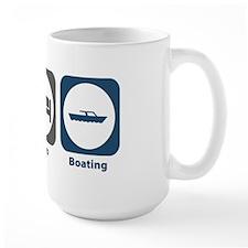 Eat Sleep Boating Mug