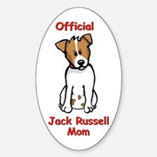 JR Mom Oval Decal