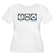 Eat Sleep Boatbuilding T-Shirt
