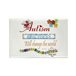 Autism Awareness Rectangle Magnet (10 pack)