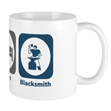 Eat Sleep Blacksmith Mug