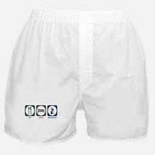 Eat Sleep Blacksmith Boxer Shorts
