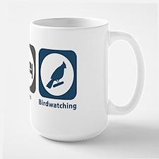 Eat Sleep Birdwatching Large Mug