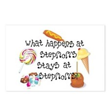 What Happens at StepMom's... Postcards (Package of