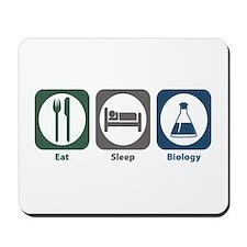Eat Sleep Biology Mousepad