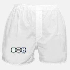 Eat Sleep Biology Boxer Shorts