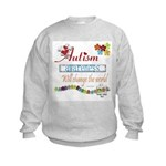 Autism Awareness Kids Sweatshirt