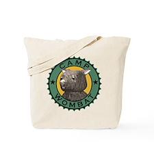 Camp Wombat Tote Bag