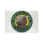 Camp Wombat Rectangle Magnet (10 pack)