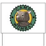 Camp Wombat Yard Sign