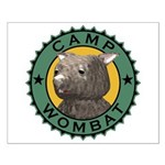 Camp Wombat Small Poster