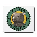 Camp Wombat Mousepad