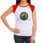 Camp Wombat Women's Cap Sleeve T-Shirt