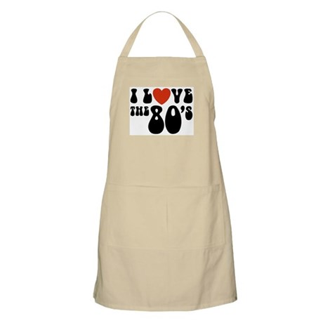 I love the 80's BBQ Apron